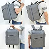 Techway-Portable-Waterproof-Shoulder-Bag-Backpack-Rucksack-Carry-Bag-Travel-Case-for-DJI-Phantom-4-Gray