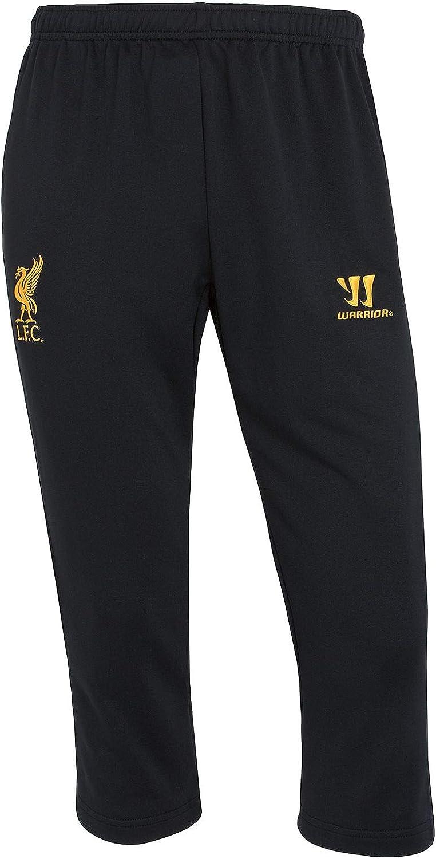 Amazon Com Warrior Sports Liverpool Fc Black Training 3 4 Sweatpants Clothing