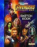 Avengers Infinity War - Superhero Sketch Book