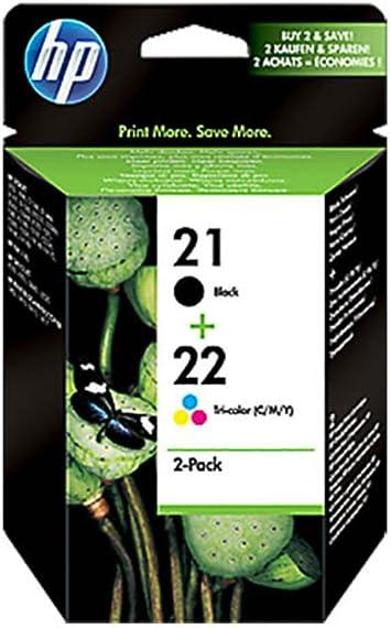 Original Tinten Spar Set Hp Nr 21 Nr 22 Sd367ae445 2 Tinten Patronen Schwarz Cyan Magenta Gelb 360 Seiten Bürobedarf Schreibwaren