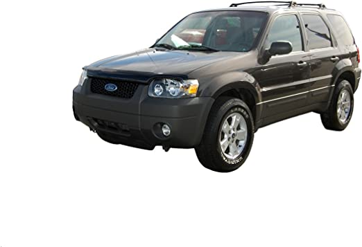 Auto Ventshade 21360 Hoodflector Dark Smoke Hood Shield for 2005-2007 Ford Escape Hybrid//Mercury Mariner