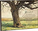 You and I, We're Meant to Be Poem Tree 12 x 16 Wood Wall Art Sign Plaque