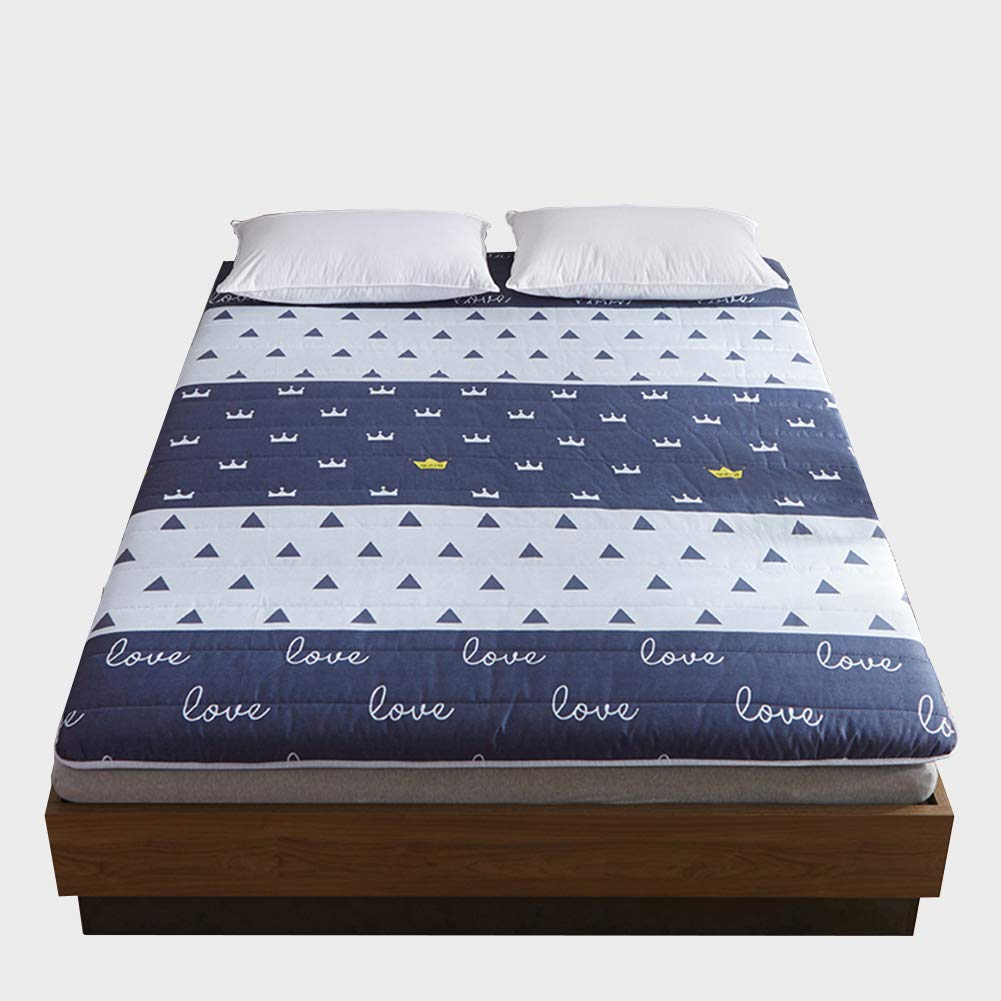 Foldable Mattress Upholstery - Simple Tatami Floor Mat - Office Nap Mat Student Dormitory Single Mattress,D,90X200cm/35.5x79in by TENCMG