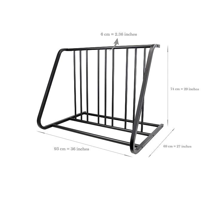 Amazon.com: CyclingDeal - Soporte de almacenamiento para 6 ...