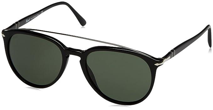 278d4e16820 Amazon.com  Persol PO3159S 901431 Sunglasses Black Size 55mm  Persol ...