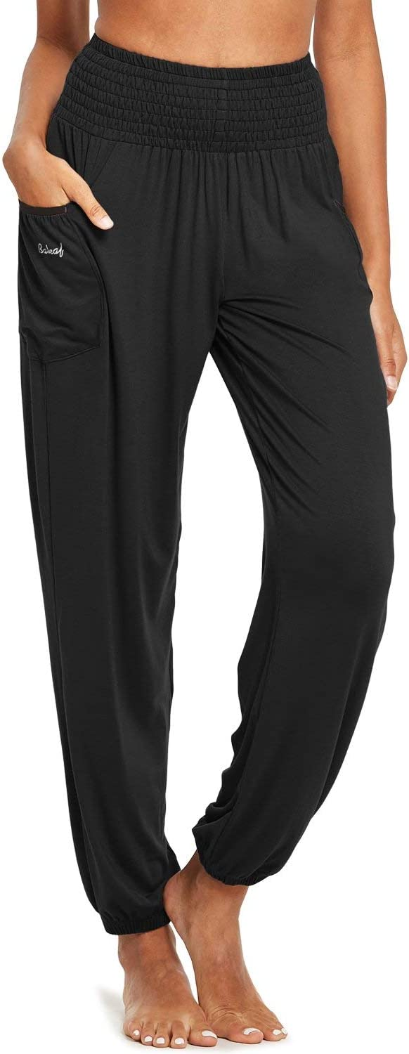 6. BALEAF Women's Active Yoga Plus Size Sweatpants Joggers