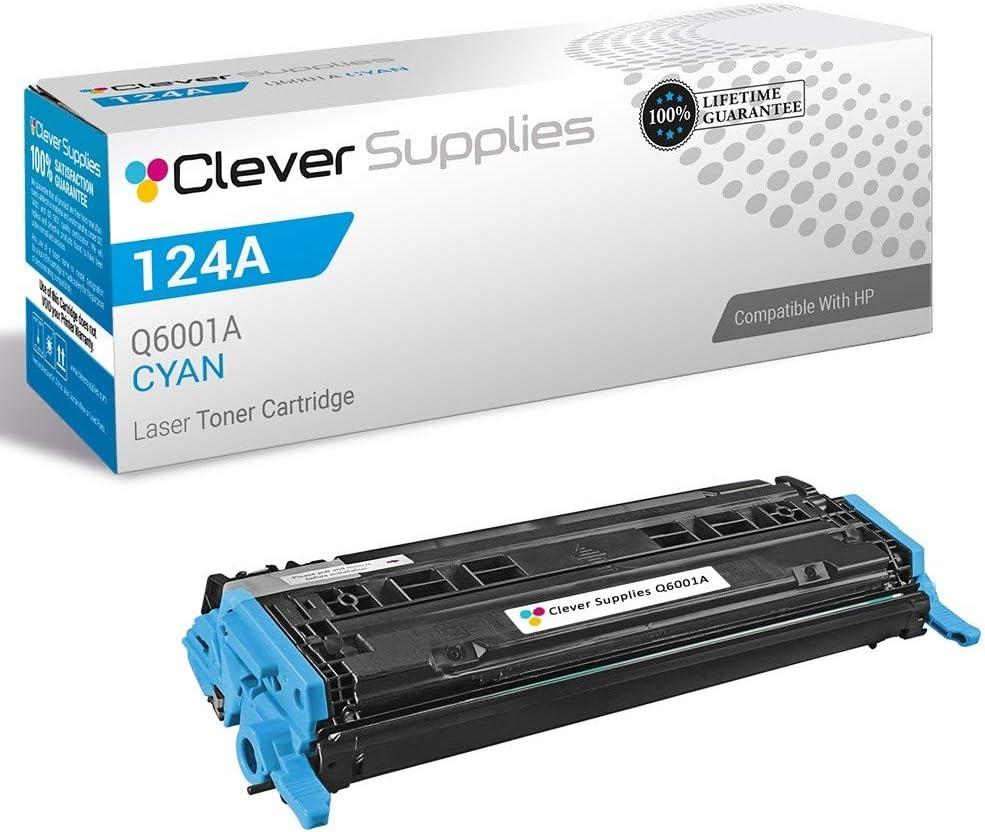 CS Compatible Toner Cartridge Replacement for HP 2600N Q6000A Black HP 124A 1600 2600 2600N 2600DN 2605 2605DN 2605DTN CM1015 CM1015MFP CM1017 CM1017MFP 2 Set