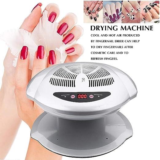 CSFM-Manicure Secador de Esmalte de uñas Ventilador de Aire ...
