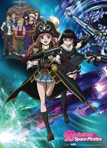 Great Eastern Entertainment Bodacious Space Pirates Keyart W