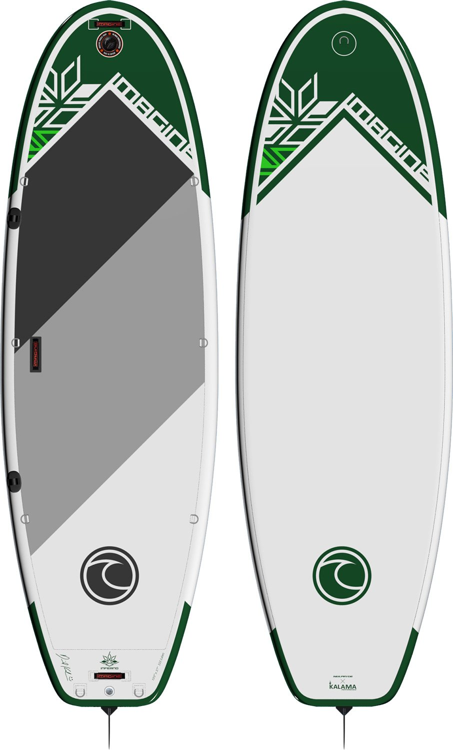 激安直営店 Imagine IPS Inferno DLXインフレータブルSup 6in Paddleboard B01M3VVCJQ 10ft IPS x x 37in x 6in, 園田商事:00084767 --- diesel-motor.pl