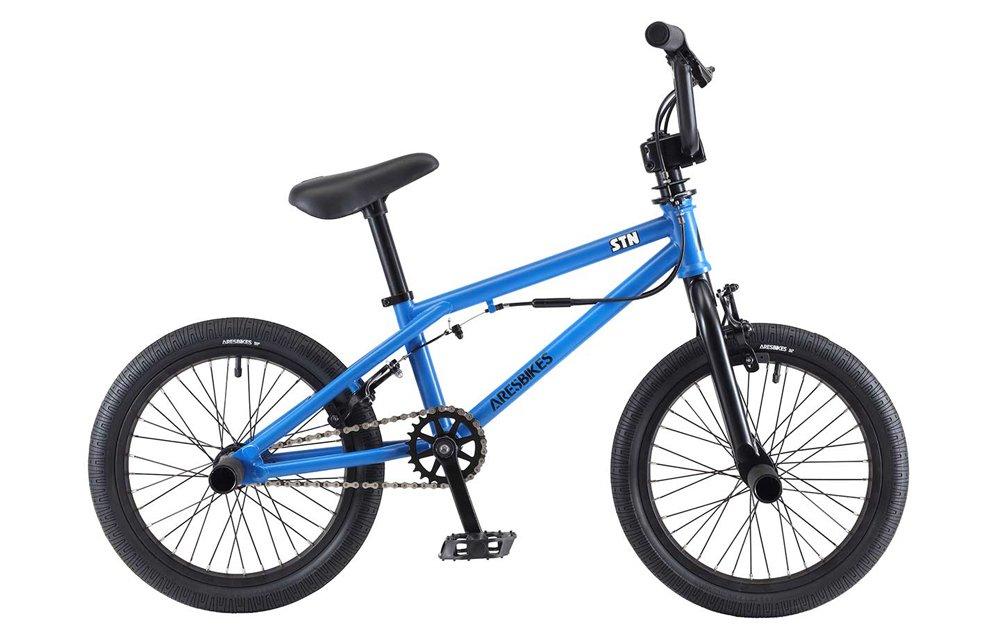 ARESBIKES アーレスバイクス STN KIDS BMX 16インチ マットブルー B07DYPVPRV