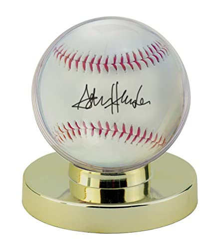 26790191d0d Amazon.com   Ultra PRO Baseball Holder with Gold Base   Sports Related  Display Cases   Sports   Outdoors