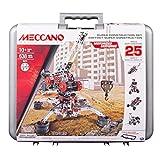 Meccano Super Construction Set, 25 Motorized Model Building Set, 638 Pieces, For Ages 10+, STEM Education Toy