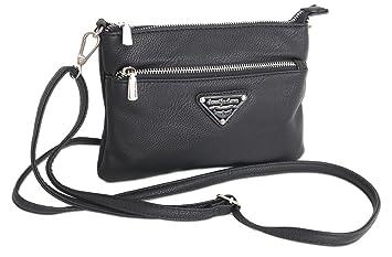 86e00baf562f2 Jennifer Jones Taschen Damen Damentasche Handtasche Schultertasche  Umhängetasche Tasche klein Crossbody Bag XS in verschiedenen Farben