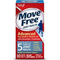 80-Count Move Free Advanced Plus MSM & Vitamin D3 Tablets