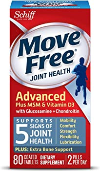 Move Free Advanced Glucosamine Chondroitin Joint Supplement