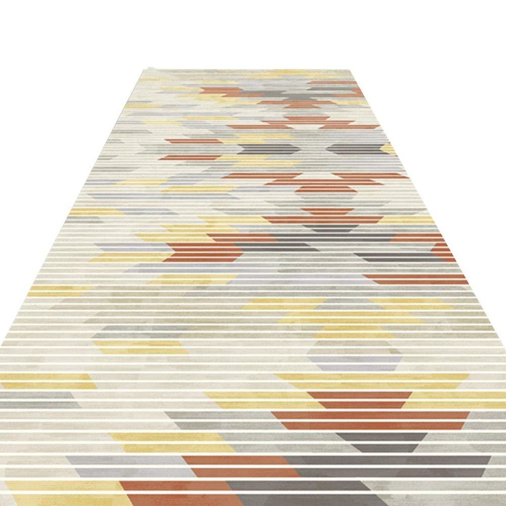 A LYQZ Allée Personnalisable de Couloir de Salon de Salon d'escaliers de Tapis, Doux et coupé (Couleur   A, Taille   1.2  2m) 1.29m
