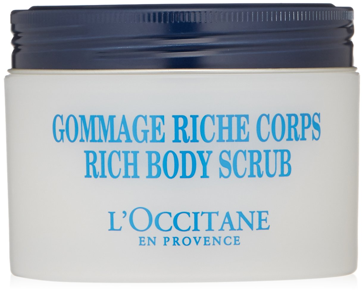 L'Occitane Gentle & Ultra-Rich Body Scrub with 10% Shea Butter, 7 oz.