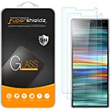 (2 Pack) Supershieldz Designed for Sony Xperia 10 Tempered Glass Screen Protector, Anti Scratch, Bubble Free