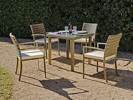 Hevea - Mesa de jardín