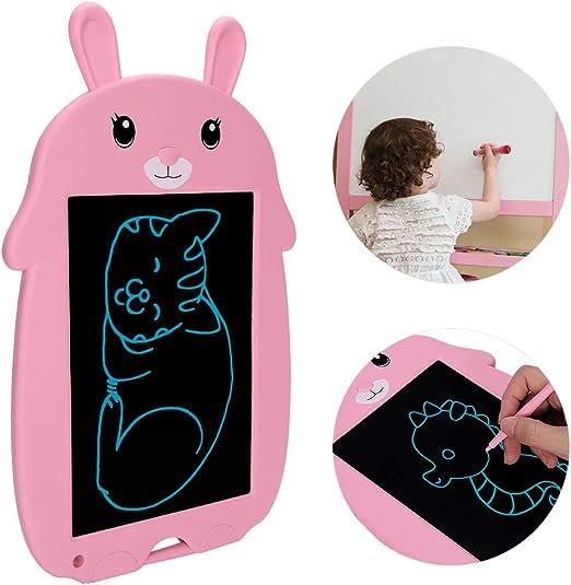 LCDライティングタブレット、女の子のおもちゃの落書きボード、電子デジタル描画タブレット、子供向けの消去可能な手書きパッド、手書き紙、描画タブレットギフト