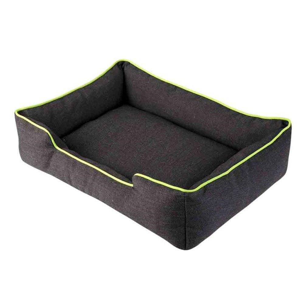 New Solid Removable Dog Mat House Soft Dog Beds Sofa For Small Medium Dogs Green S