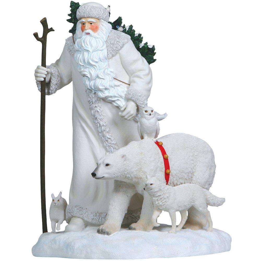 Pipka 10162 Limited Edition Arctic Santa With Polar Bear Figurine 22'' Tall