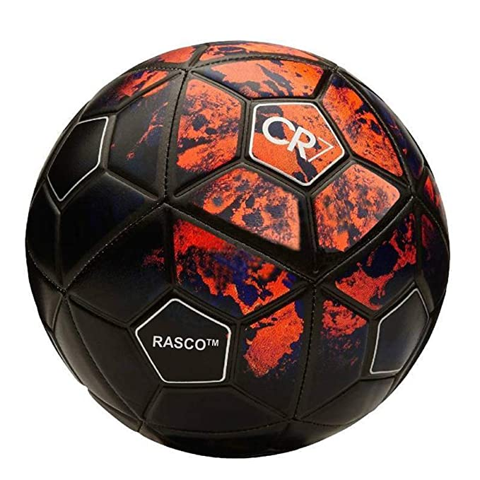 RASCO ALKA A11 Sports Strike CR 7 Football  Red, 5