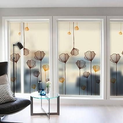 window film designs office dktie decorative window cling film designs 24 by 36invinyl no glue privacy film amazoncom 36in