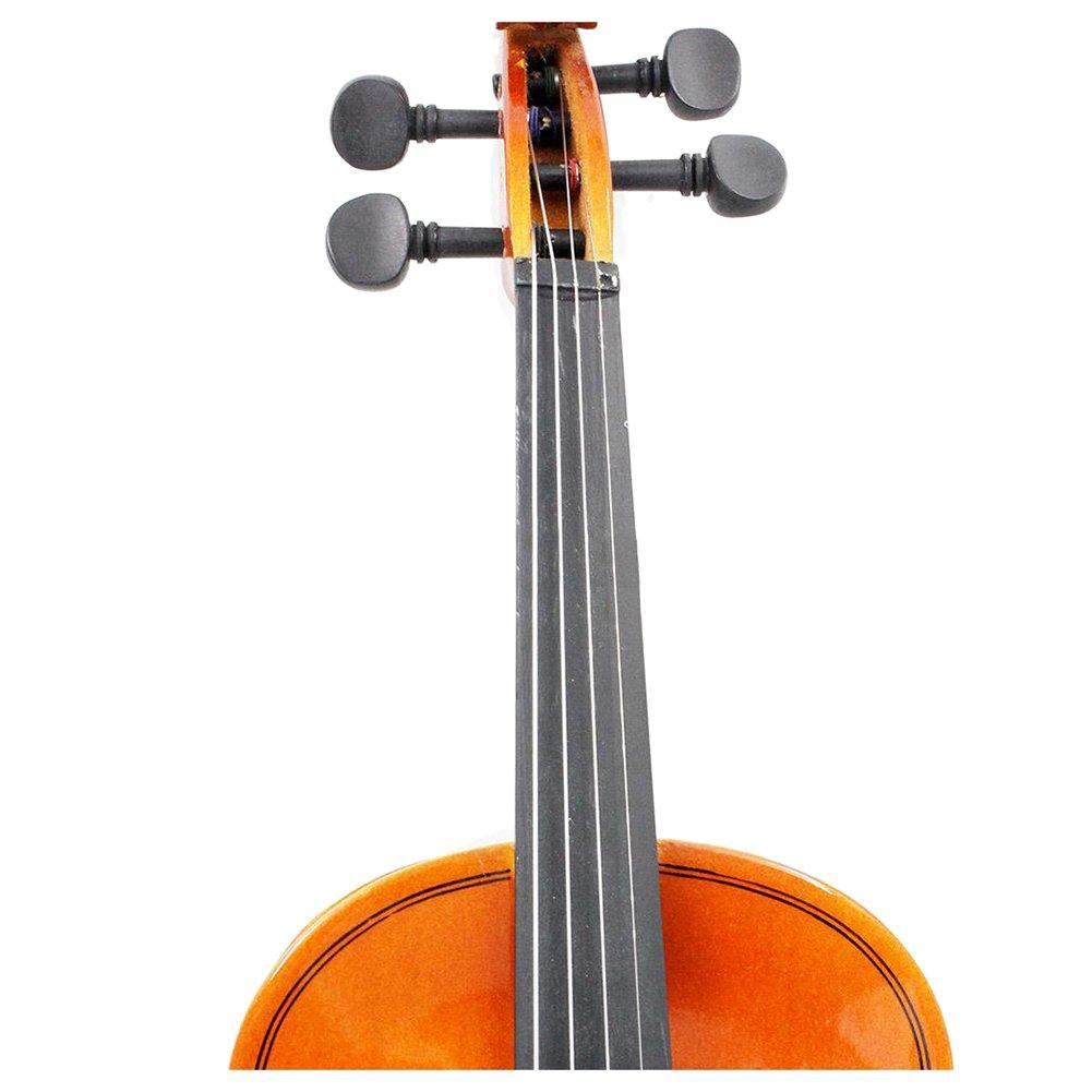 TOOGOO Dimensioni 1//2 Pergamena in Acciaio per Archi in Violino Naturale per Violino per Principianti