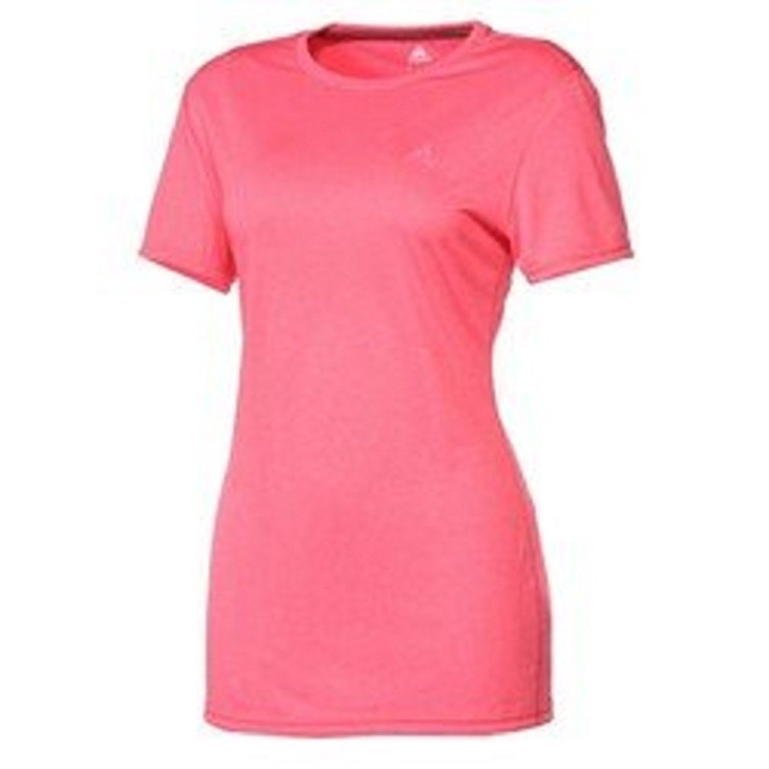 1cc2164b191b Adidas Women s ClimaTech Short-Sleeve Crew Neck Tee Xtra-Small Super Pink at  Amazon Women s Clothing store  Athletic Shirts