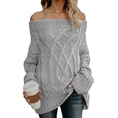 design de qualité cb5c2 a81d5 Pull Femme Pas Cher A La Mode Pullover Blouson Tops Mode ...