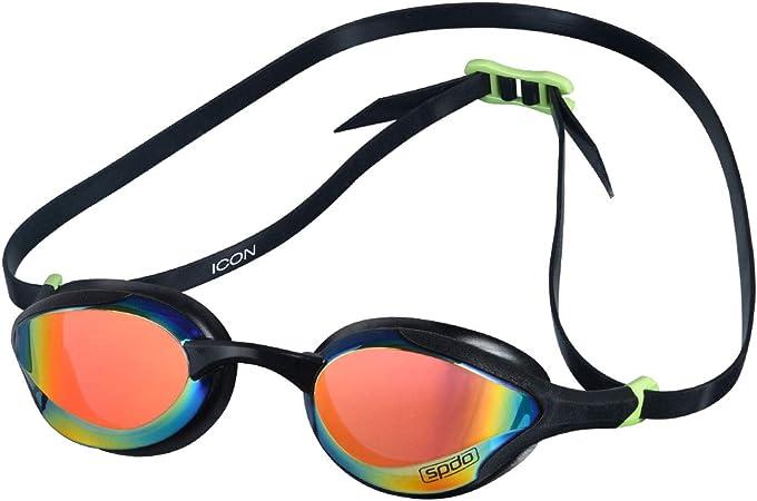 Oculos Icon Speedo Preto Rainbow Mr