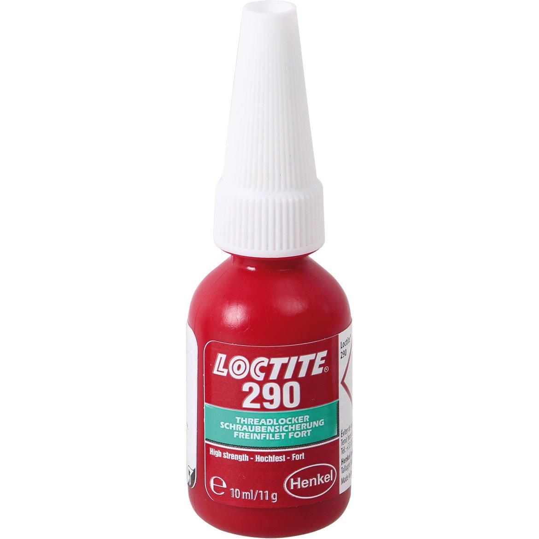 Henkel 290/10 Loctite Threadlocker, Medium/High Strength, 10 mL 111