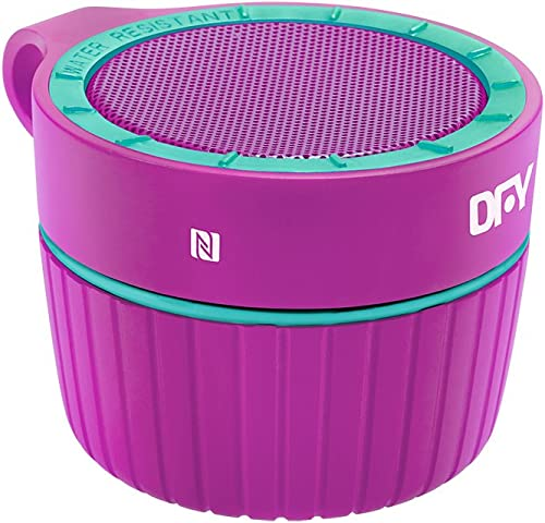 DFY Bass Jumper Water Resistant Portable Bluetooth Speaker and Speakerphone