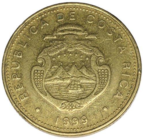 1999 CR Costa Rica 50 Colones (Dollar Costa Rica)