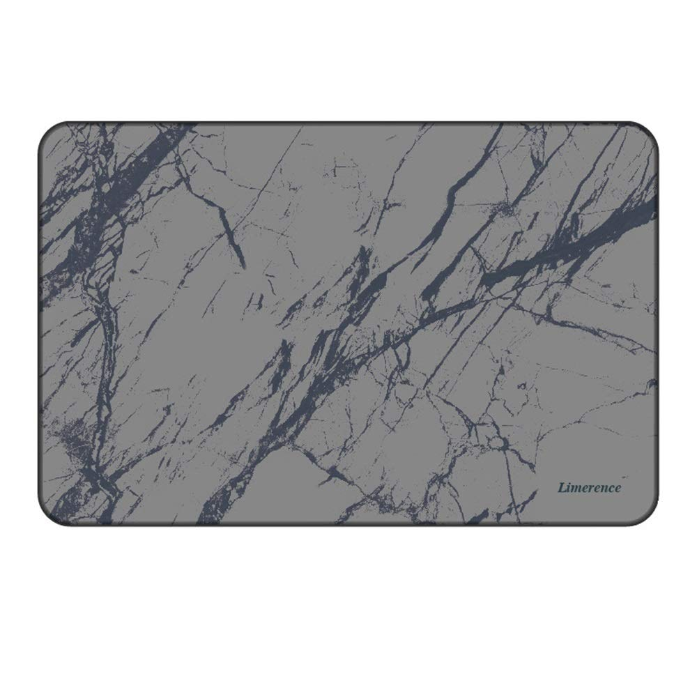 ETH Limerence Dark Gray Pattern Natural Diatomaceous Earth Bath Mat Absorbent Water Quick-Drying Does Not Fade Furniture Versatile Brushed Surface Mat (Size : 6039)