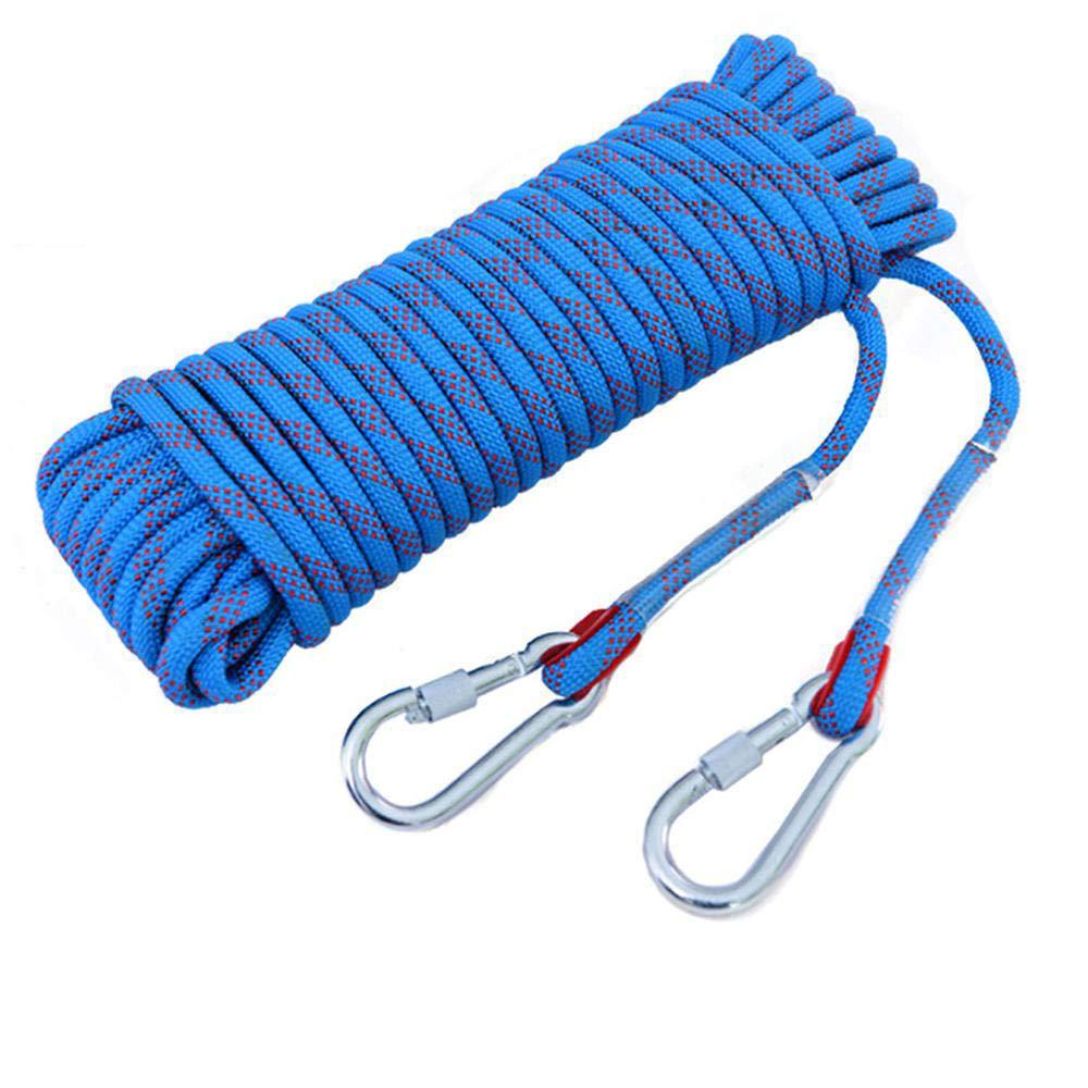 Bleu CLIMBING Corde S'élevante Extérieure De Corde De Corde De Traction De Corde De Sécurité De Travail Aérien De Corde De Délivrance De Secours De Corde De 8mm bleu-8mm30m 8mm30m