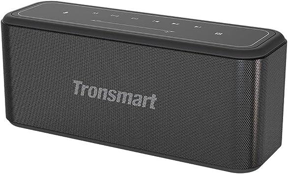 Tronsmart Mega Pro Altavoz Bluetooth 60W, Altavoz inalámbrico Portátil con TWS & NFC, Sonido Digital 3D, Panel Táctil, 10H de Reproducción Continua y ...