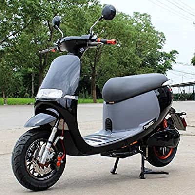 DONGFANG CIRKIT 1000W Electric Scooter Moped Bicycle Bike Outdoor Black