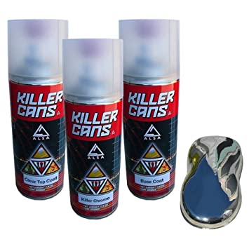 Alsa Refinish KC-KC-KIT-AFBM - Killer Chrome Kit: Amazon co