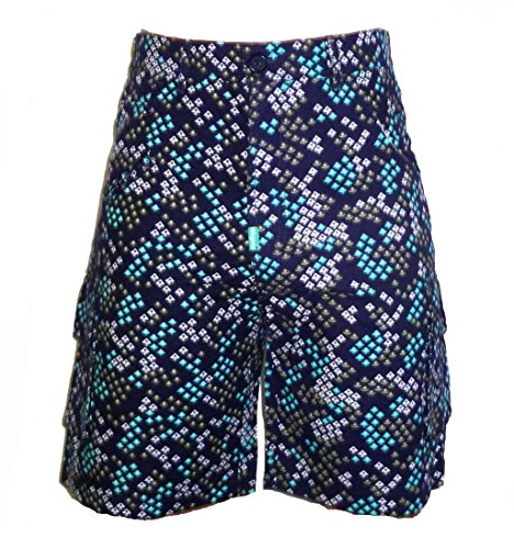 4d20a91154 hot sale 2017 LRG Lifted Research Group Navy Blue Logo Shorts ...