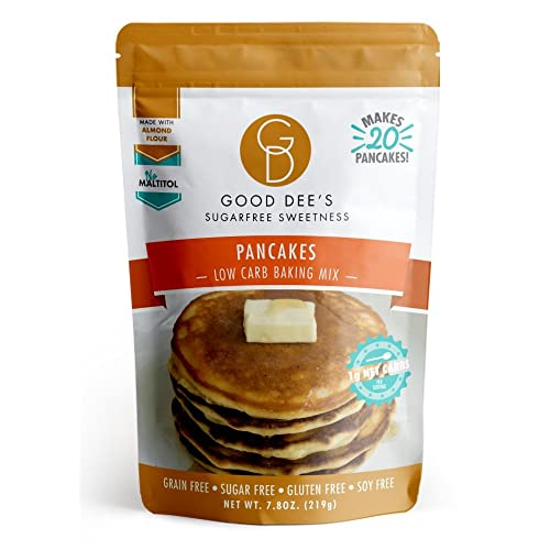 Good Dees Pancake Mix- Gluten free, Grain Free, and made with Almond Flour