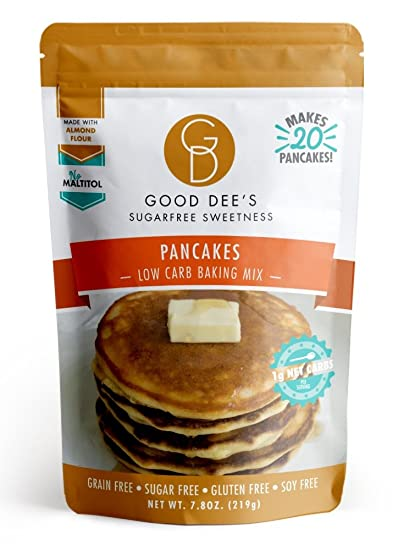 Amazon good dees pancake mix gluten free grain free and good dees pancake mix gluten free grain free and made with almond flour ccuart Image collections
