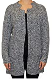 Ladies Casual Oversized Long Sleeve Womens Chunky Knitted Cardigan with Pockets - 2179