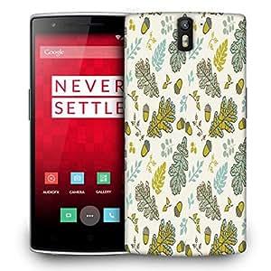 Diseñador Snoogg Teléfono protector de la cubierta del caso para One Plus One