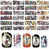 12 sets SUPERHEROES Wonder Woman vs Superman vs Batman joker Harley Quinn NAIL DECALS storm supergirl cartoon marvel comic NAIL FOILS pin up girls cosplay nail stickers nail vinyls NAIL WRAPS