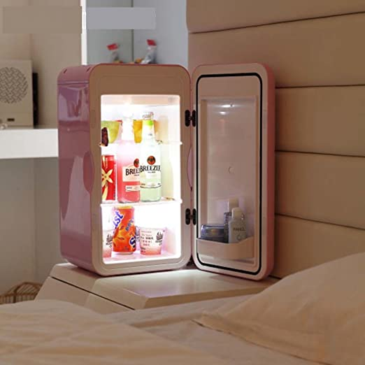 SL&BX Mini refrigerador doméstico, Pequeña nevera 16l oficina ...