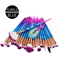 TAOtTAO 21PCS Make Up Foundation Eyebrow Eyeliner Blush Cosmetic Concealer Brushes