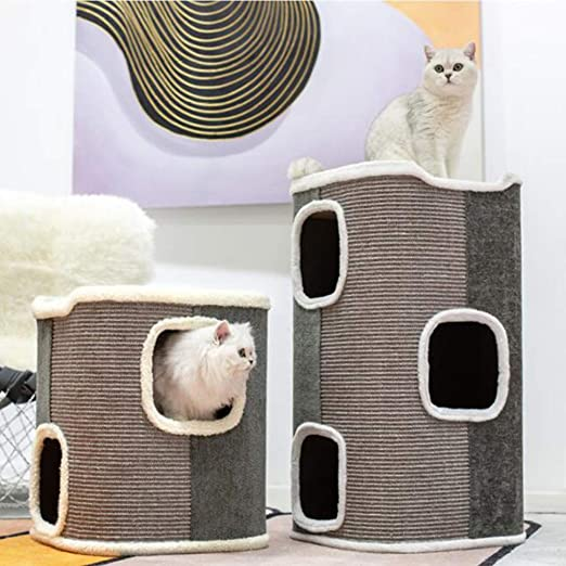 Pet Muebles de Gato de Tubo de sisal, Montura de Gato, Nido de ...